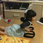 5歳の実践的プッシュアップバー