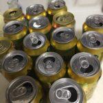 毎日の晩酌で空けているビール