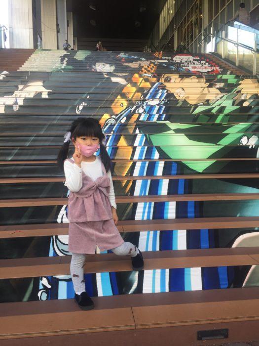 イオンモール京都の大階段