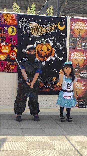 ハロウィンの仮装行列