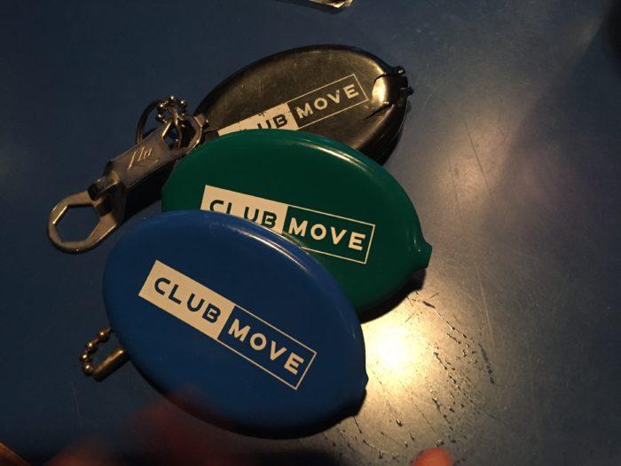 CLUB MOVEのコインケース現行品