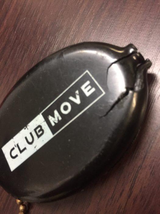 CLUB MOVEのコインケース