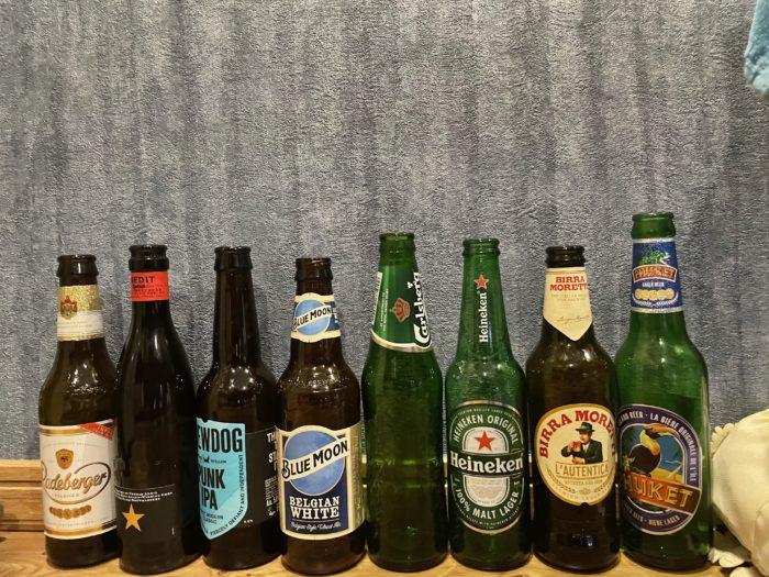 世界の瓶ビール