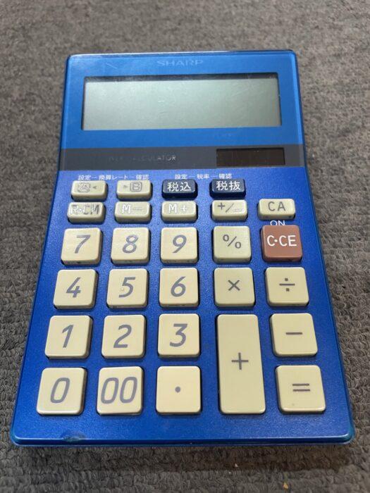 シャープの12桁電卓EL-M822AZ