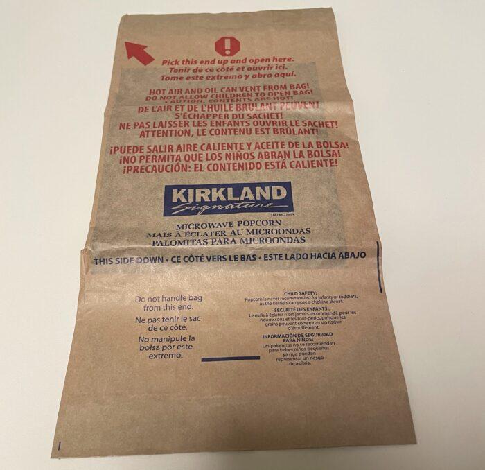 カークランドのポップコーンの作り方