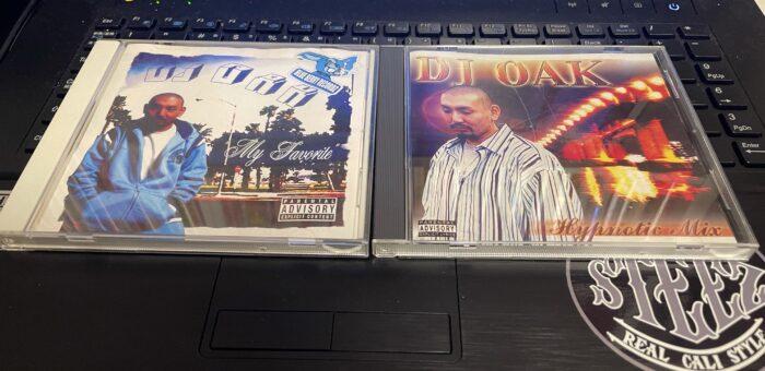 京都のVIVAのDJ OAKのMIX CD『Hypnotic MIX』と『My Favorite』
