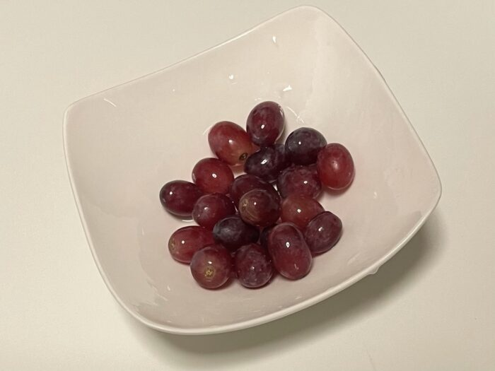 レッドシードレスが人気の食べやすいブドウ。