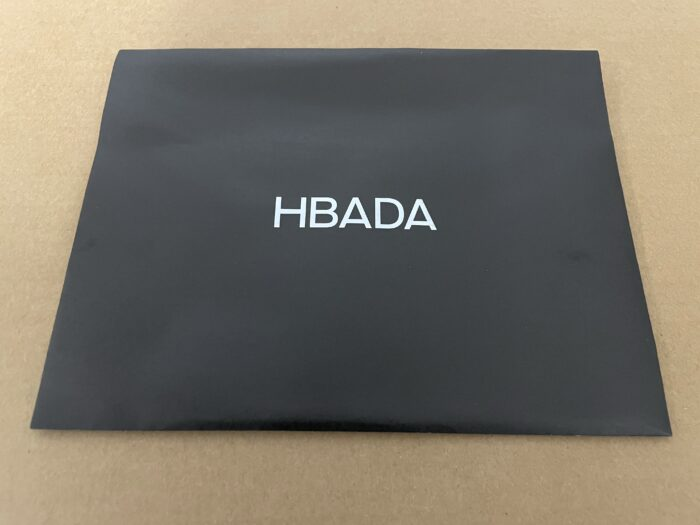 Hbadaのオフィスチェアの説明書入れ