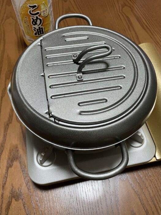 ヨシカワの天壱の天ぷら鍋22cmのデザイン性