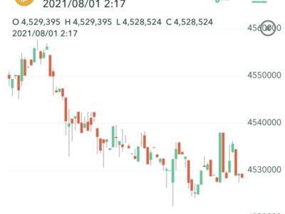 仮想通貨のビットコインもチャンスを見逃していた・・・。